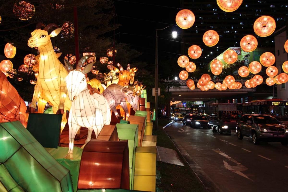Chinatown s'apprête à fêter l'année de la chèvre