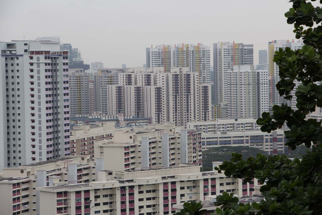 Le singapourien moyen vit probablement plus ici ...