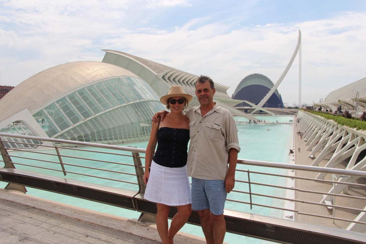 Valence, con la chica de mi vida
