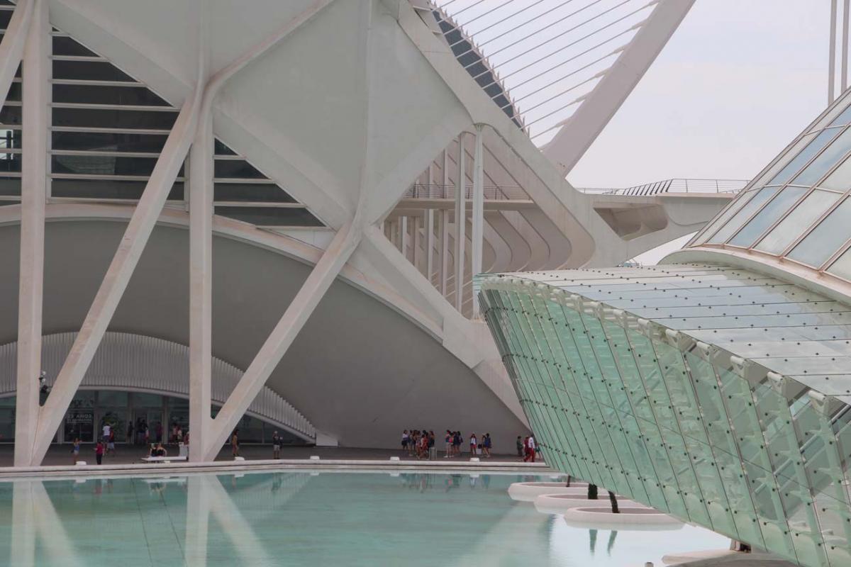Valence, architecture de Calatrava
