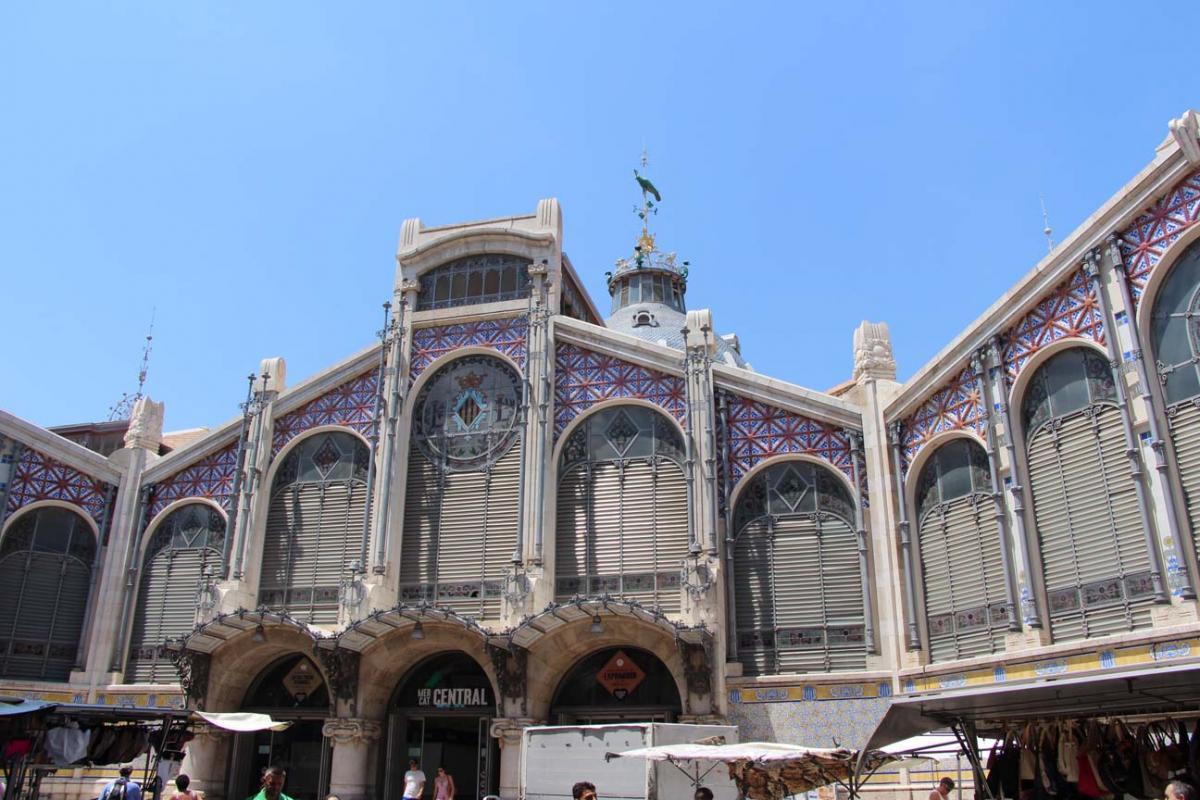 Valence, le marché