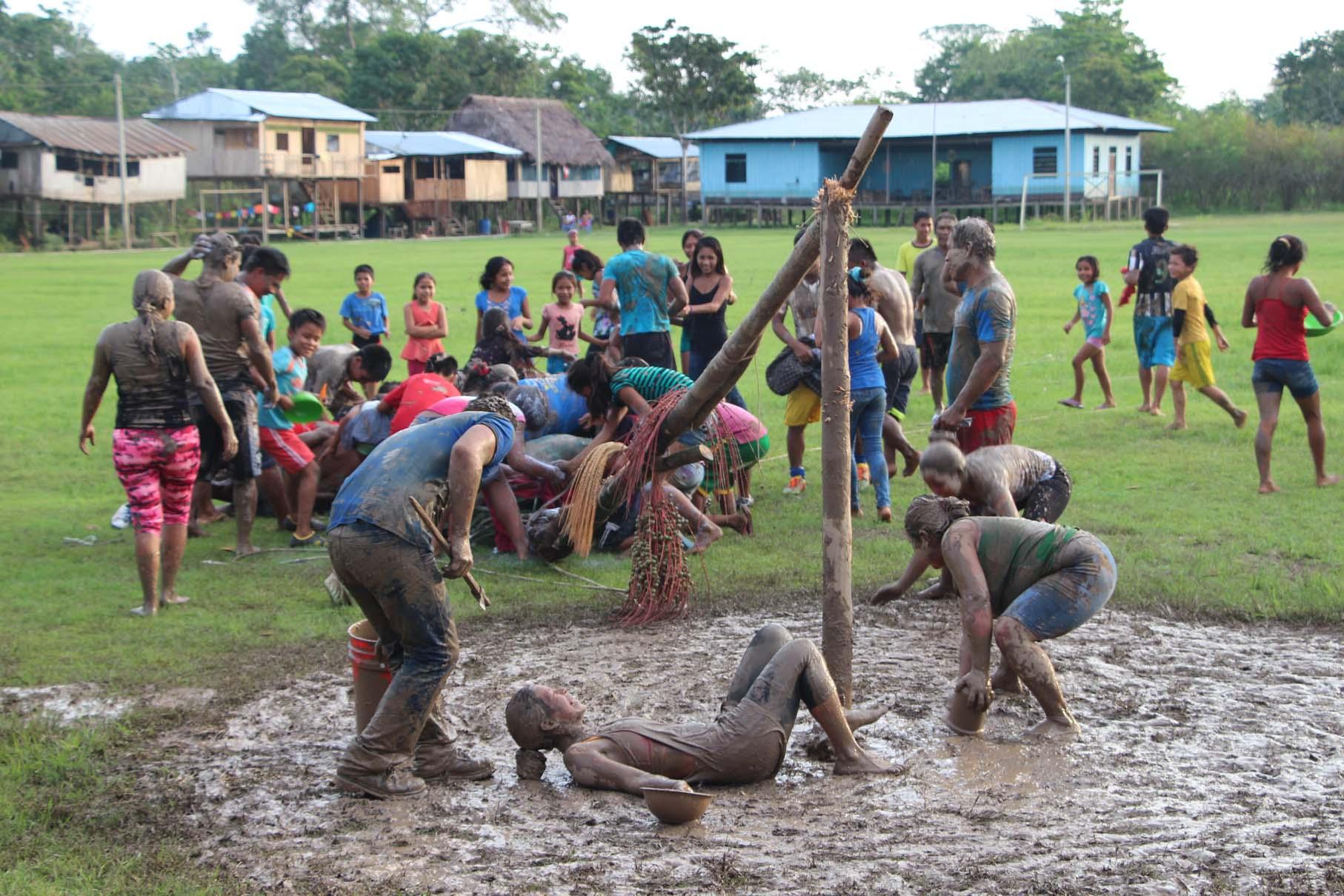 Amazonie, la fête à Libertad