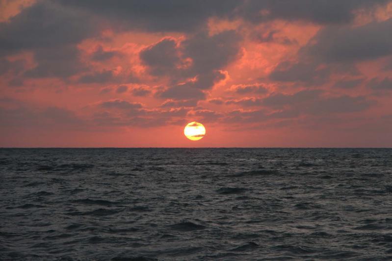 Coucher de soleil à Tolù