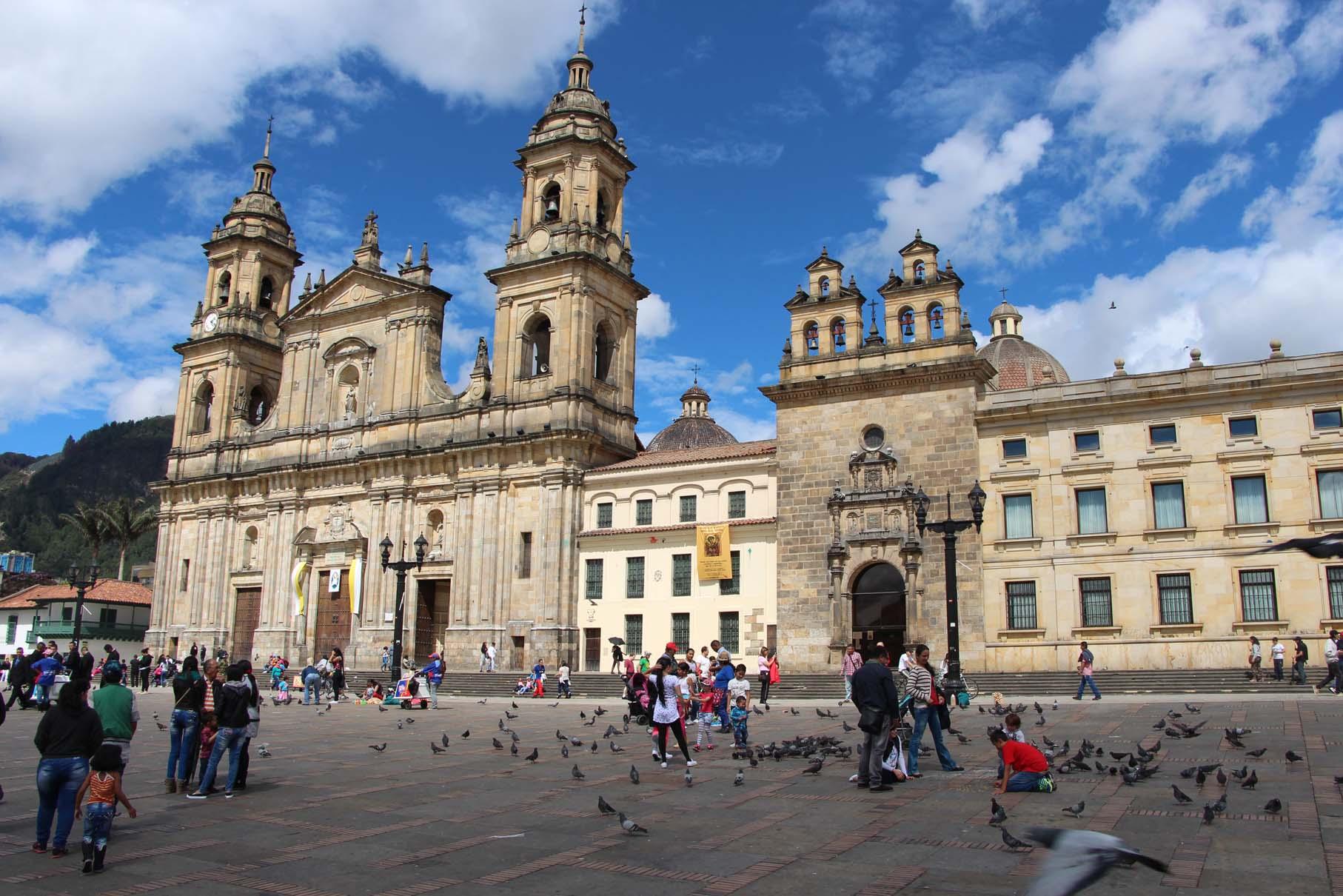 Bogota, place centrale
