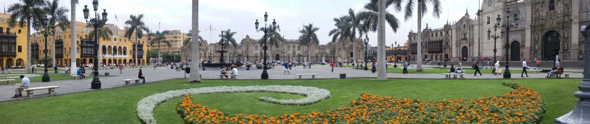 Lima, la place d'armes