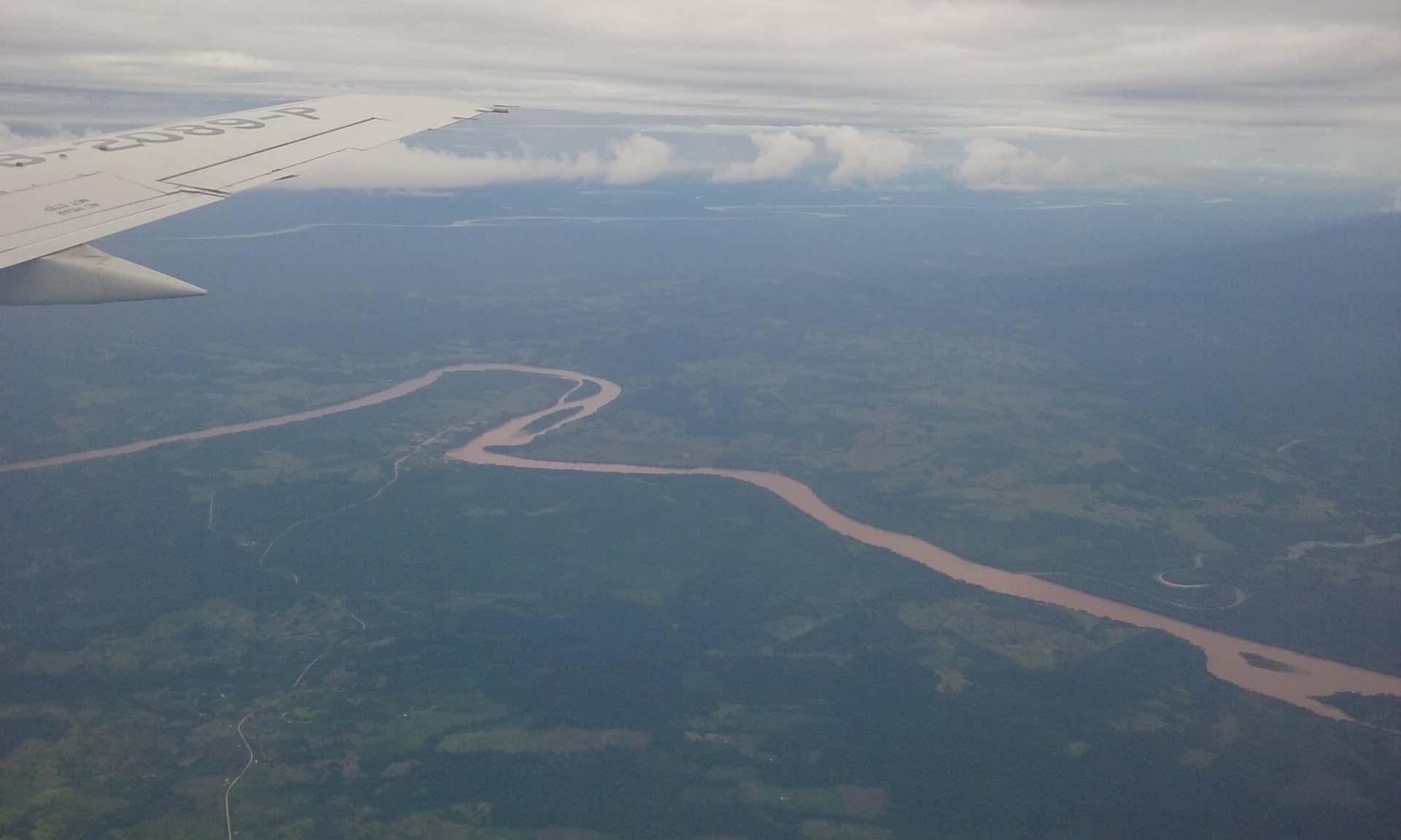 L' hostile Amazonie