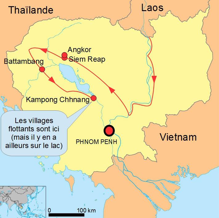Cambodge kampong chhnang