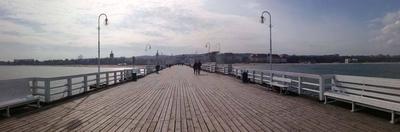 Sopot, à proximité de Gdansk.