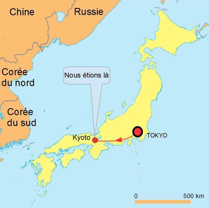 Carte Du Japon Kyoto | tonaartsenfotografie