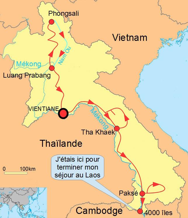 Laos 4000 iles