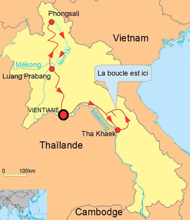 Laos Tha Khaek