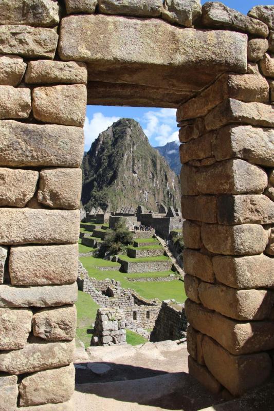 Wayna Picchu, depuis Machu Picchu