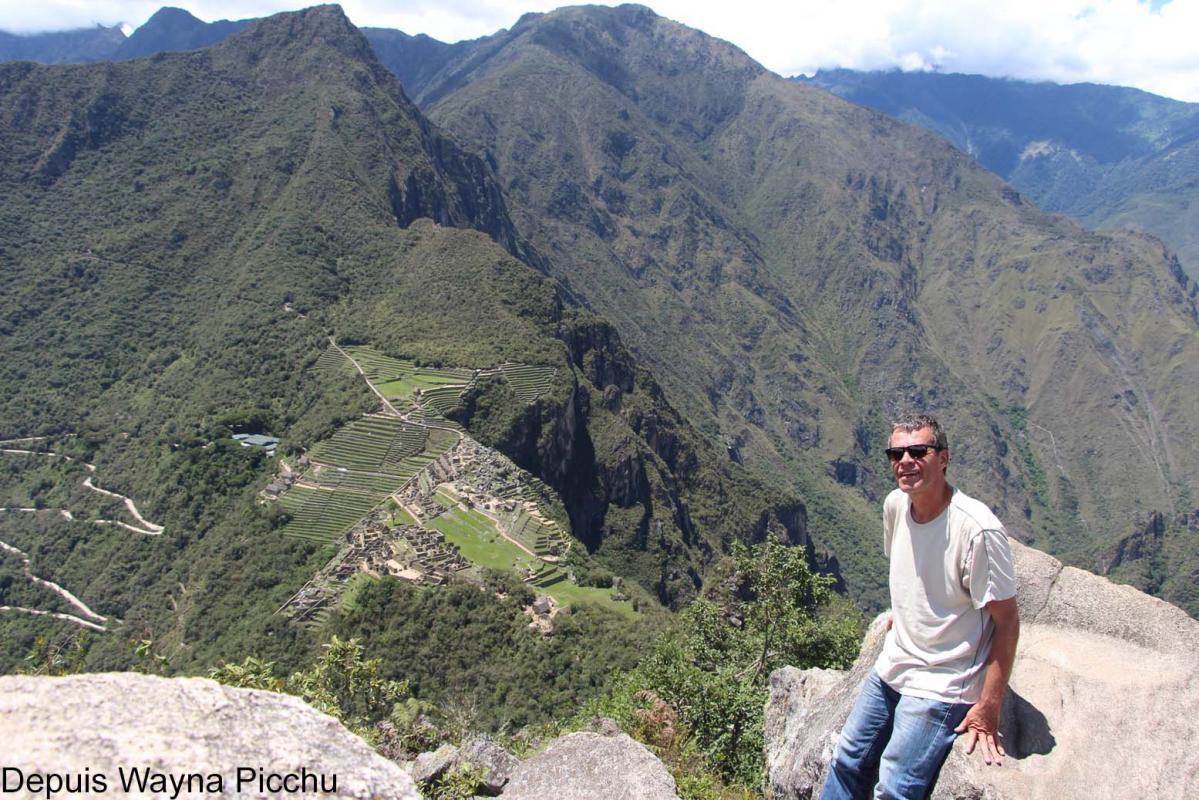 Au sommet du Wayna Picchu