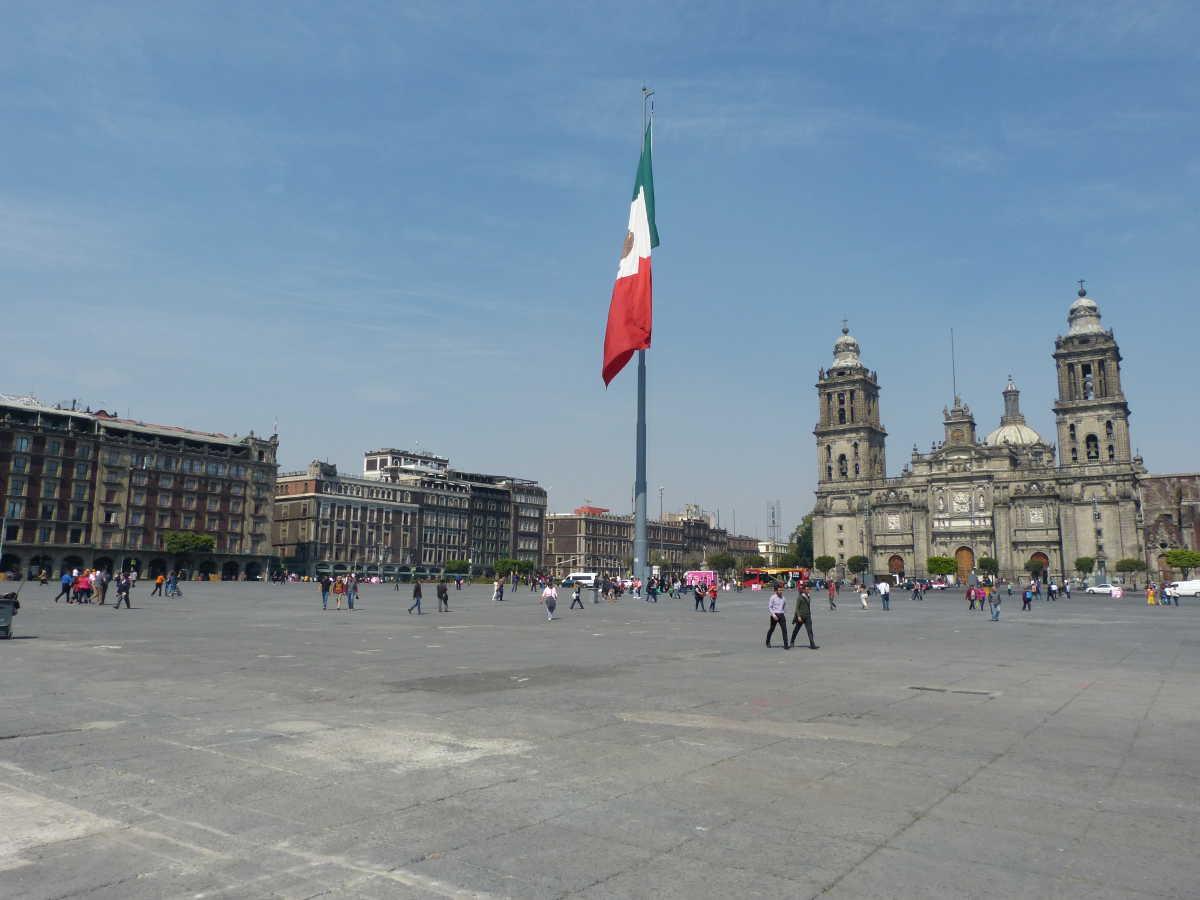 Mexico, le zocalo