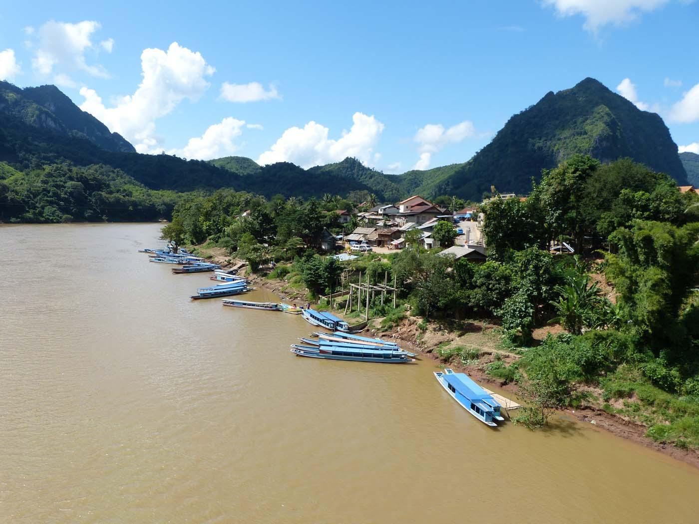 Nam Ou, à Nong Khiaw