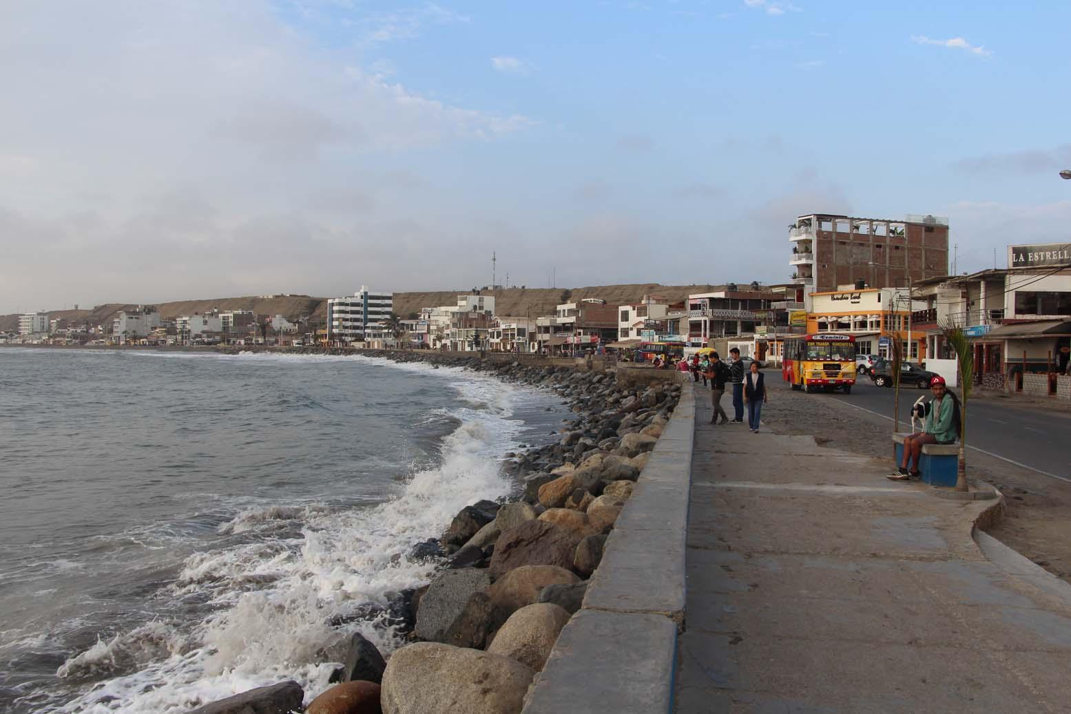 Huanchaco, le front de mer
