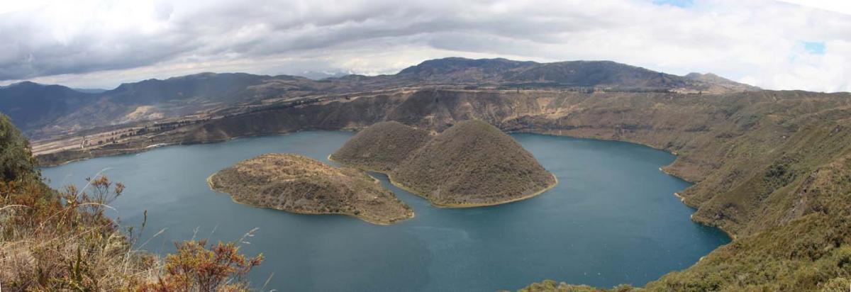 Le cratère du Cuicocha