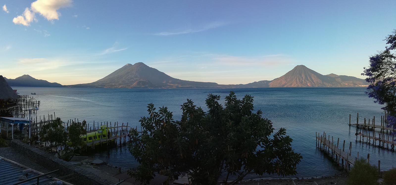 Panajachel, le lac