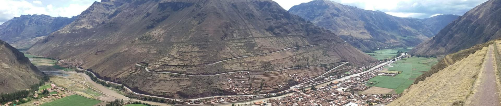 Panorama vallée sacrée