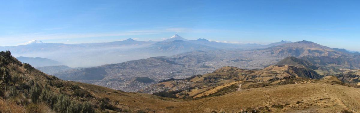 Panorama Quito et alentours