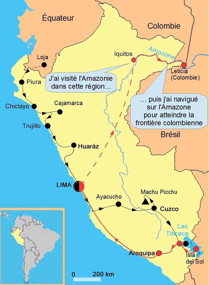 Pérou amazonie