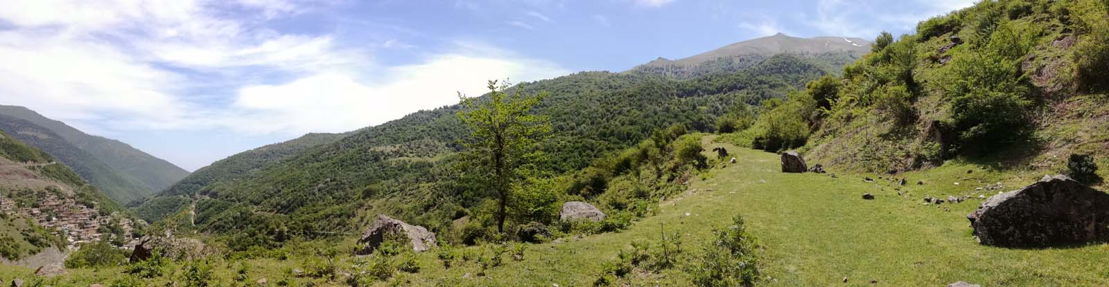 Au dessus de Masuleh