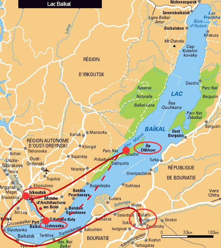 Carte Baikal