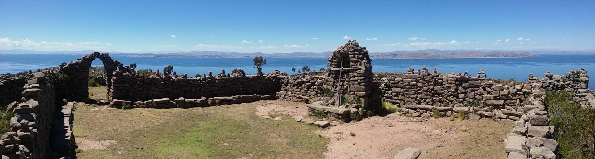 Titicaca. Au sommet de Taquile