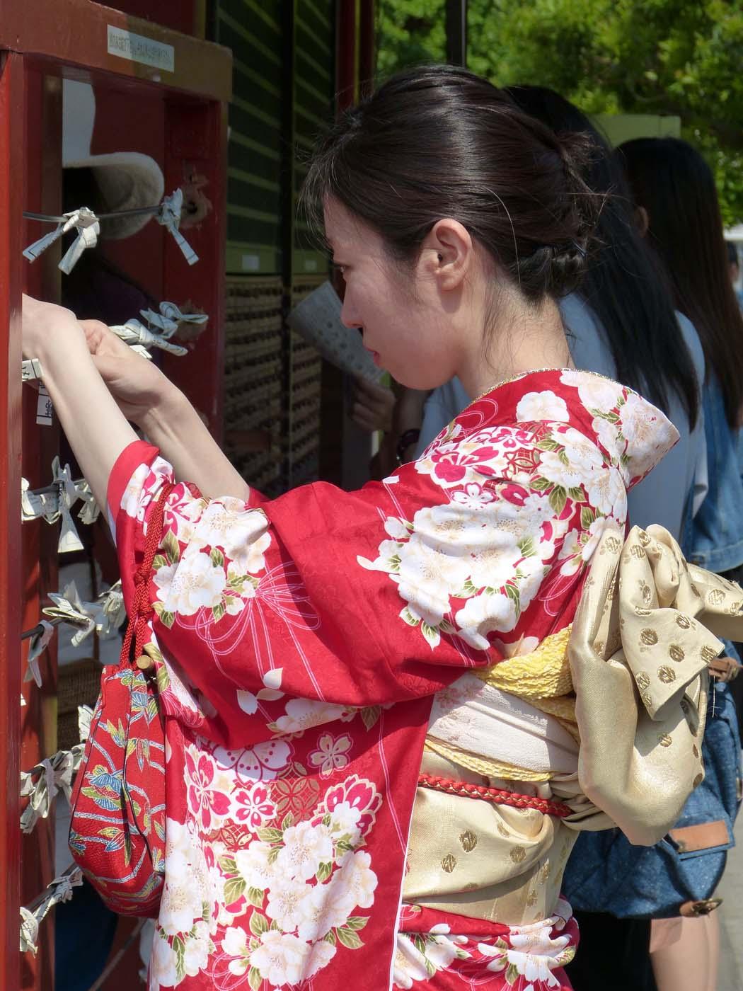 Tokyo, les fausses geishas