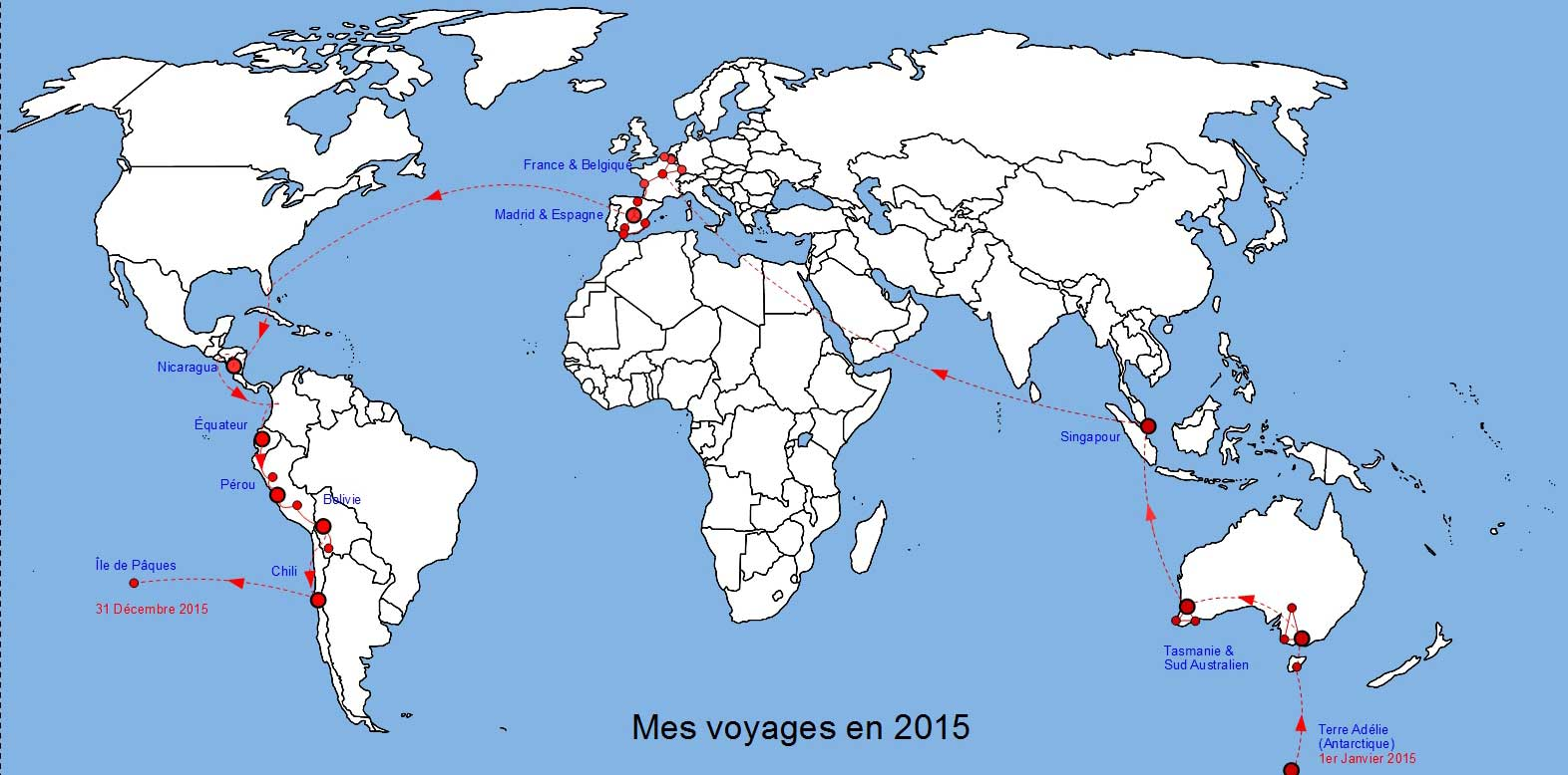 Voyages 2015
